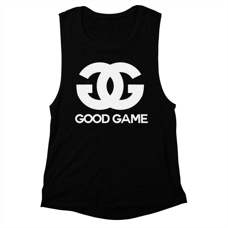 """GG"" Good Game Women's Muscle Tank by Pixlsugr!"