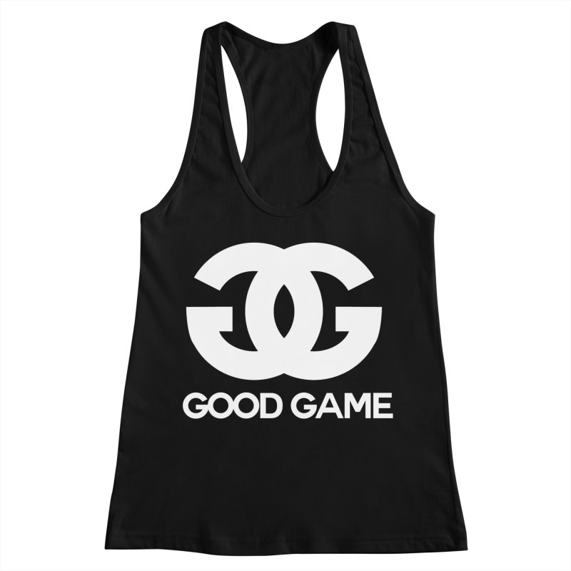 """GG"" Good Game Women's Racerback Tank by Pixlsugr!"