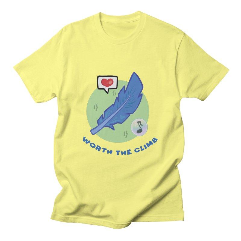 Worth the Climb Men's T-Shirt by Pixlsugr!