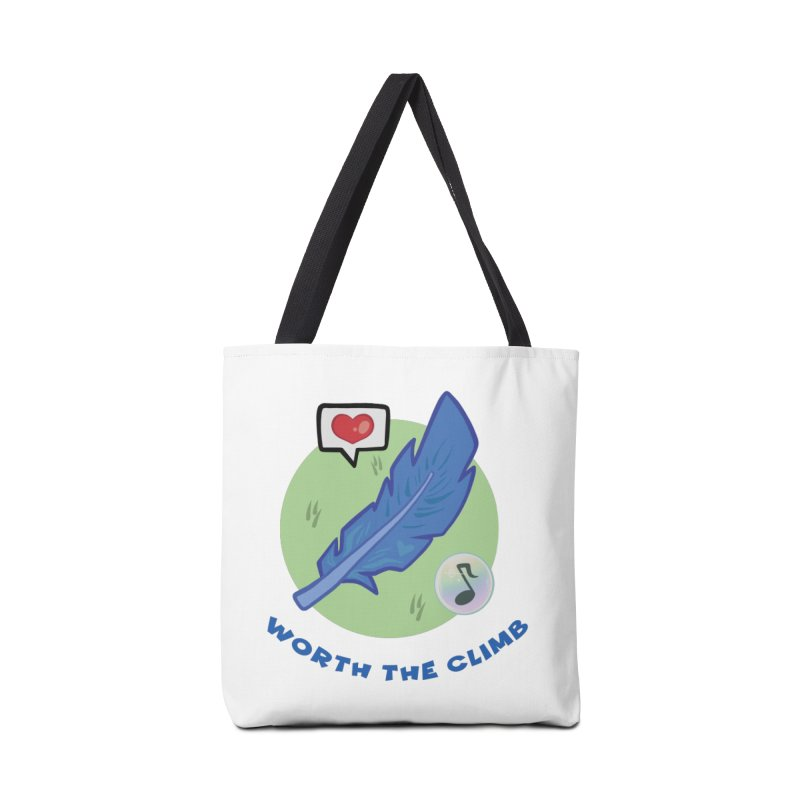 Worth the Climb Accessories Tote Bag Bag by Pixlsugr!