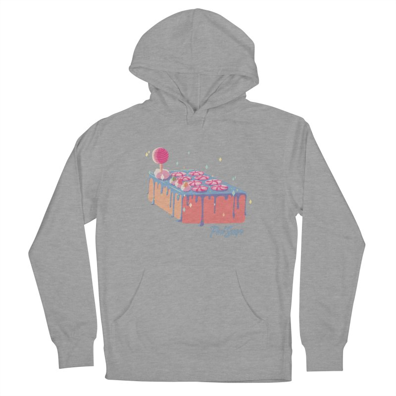 Frosted Fightstick Men's French Terry Pullover Hoody by Pixlsugr!