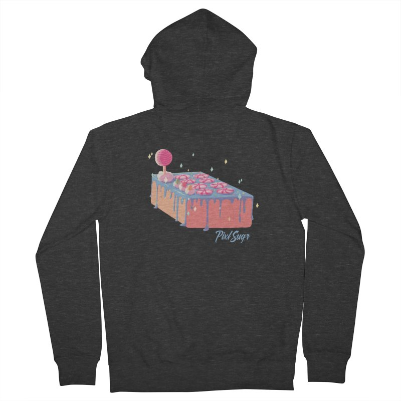 Frosted Fightstick Women's French Terry Zip-Up Hoody by Pixlsugr!