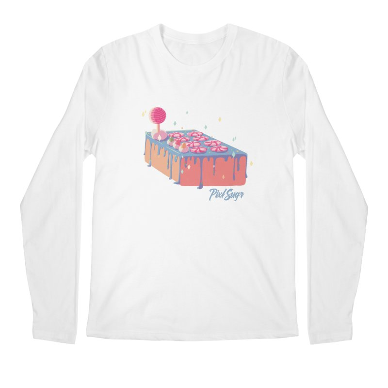 Frosted Fightstick Men's Regular Longsleeve T-Shirt by Pixlsugr!