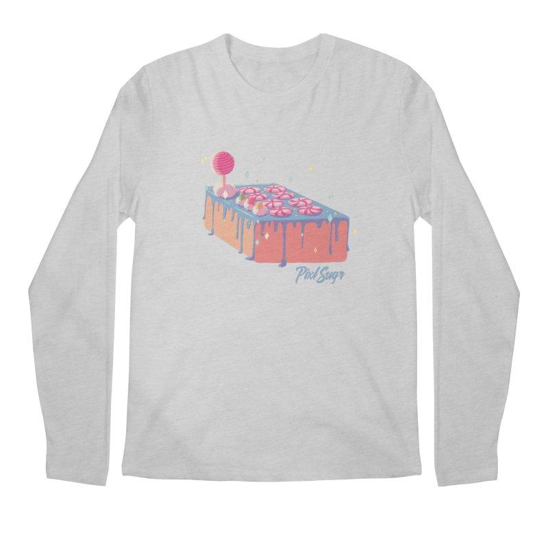 Frosted Fightstick Men's Regular Longsleeve T-Shirt by Pixlsugr!
