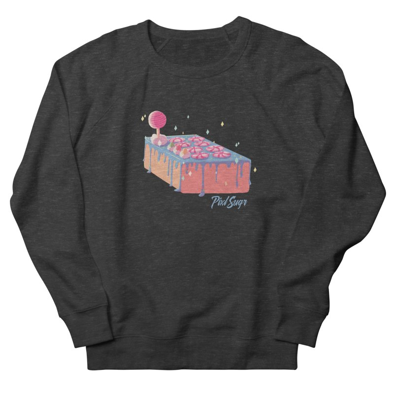 Frosted Fightstick Men's French Terry Sweatshirt by Pixlsugr!