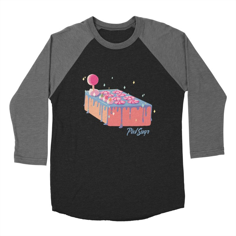 Frosted Fightstick Women's Baseball Triblend Longsleeve T-Shirt by Pixlsugr!