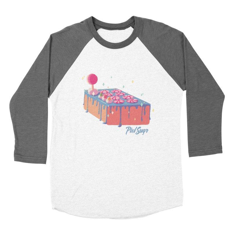 Frosted Fightstick Men's Baseball Triblend Longsleeve T-Shirt by Pixlsugr!