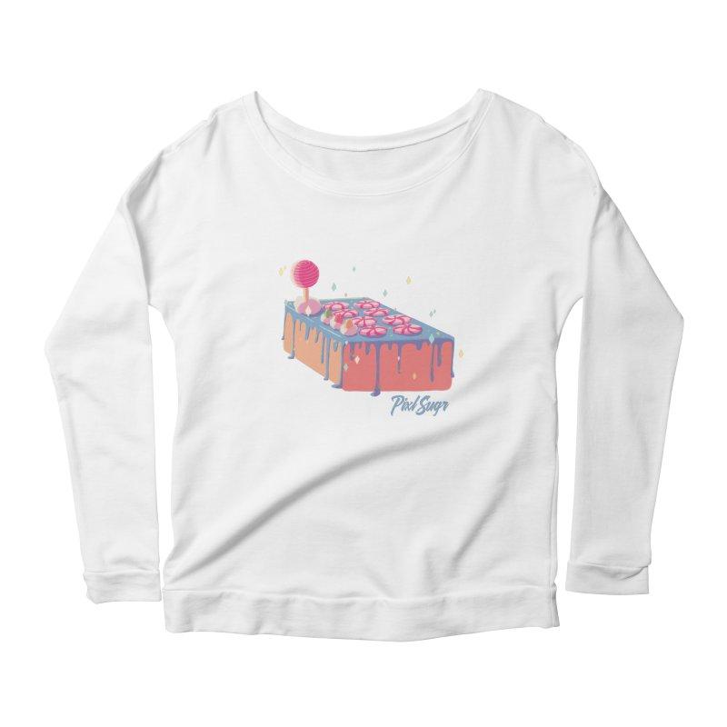 Frosted Fightstick Women's Scoop Neck Longsleeve T-Shirt by Pixlsugr!