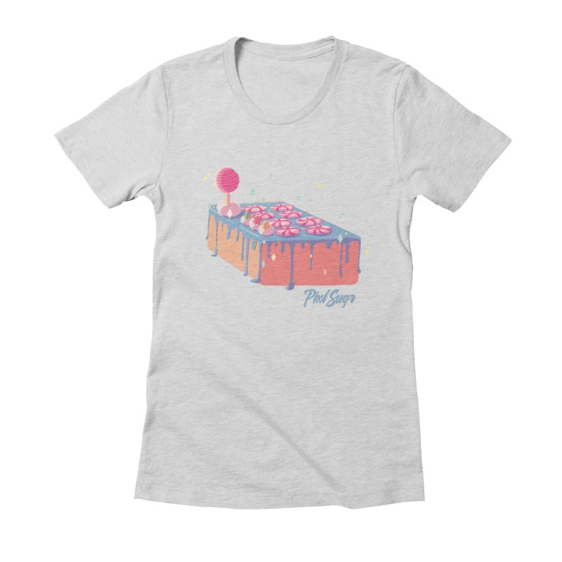 Frosted Fightstick Women's Fitted T-Shirt by Pixlsugr!