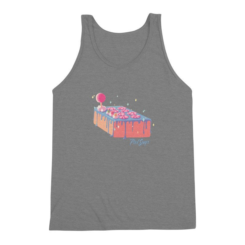 Frosted Fightstick Men's Triblend Tank by Pixlsugr!