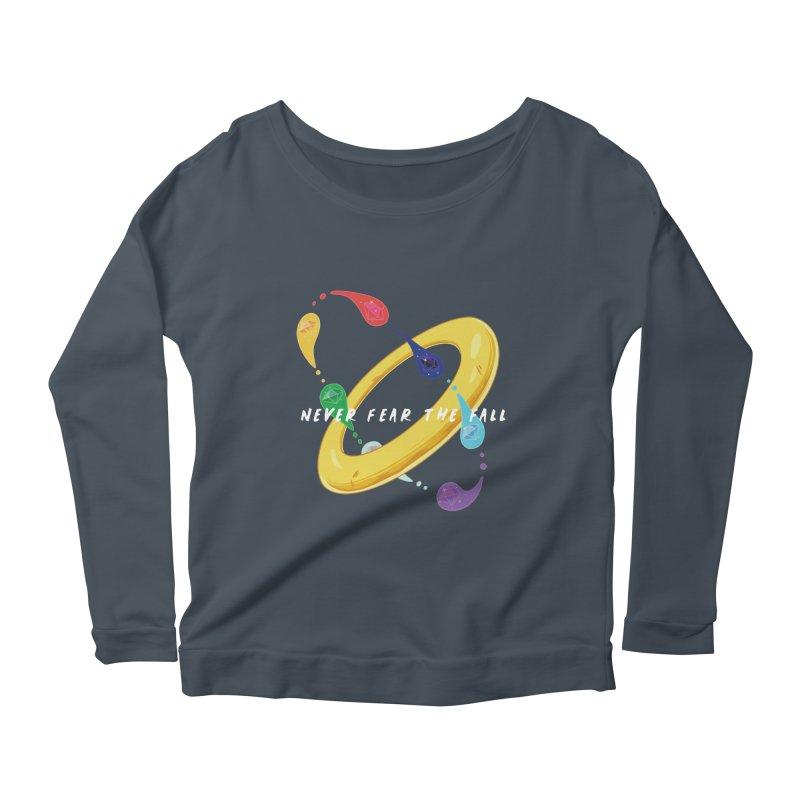 Never Fear The Fall Women's Scoop Neck Longsleeve T-Shirt by Pixlsugr!