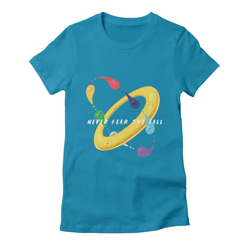 Never Fear The Fall Women's Fitted T-Shirt by Pixlsugr!