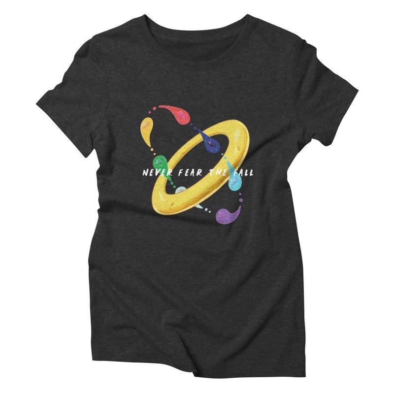 Never Fear The Fall Women's Triblend T-Shirt by Pixlsugr!