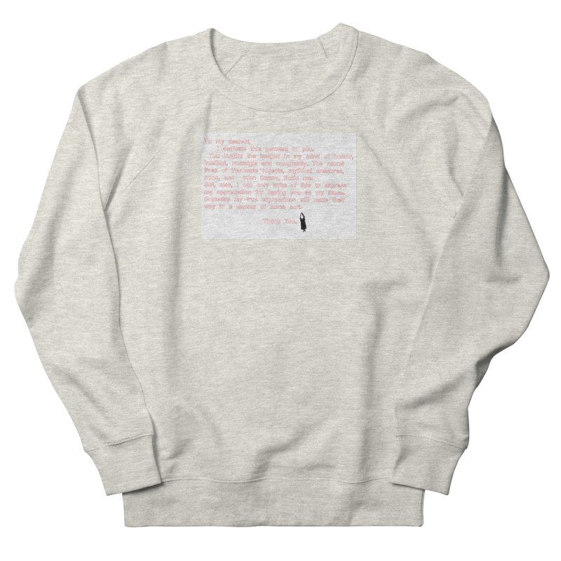 Dearest Men's French Terry Sweatshirt by pizzidave's Artist Shop