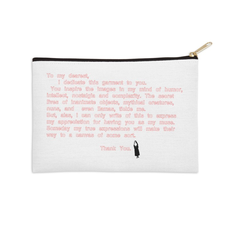 Dearest Accessories Zip Pouch by pizzidave's Artist Shop