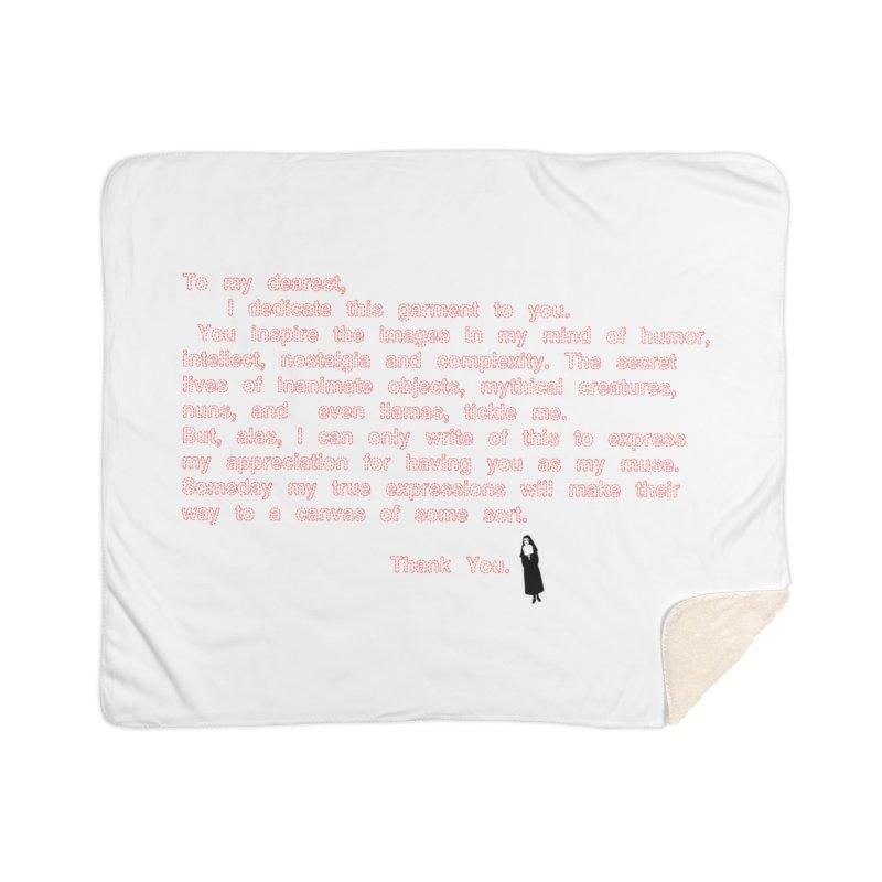 Dearest Home Sherpa Blanket Blanket by pizzidave's Artist Shop