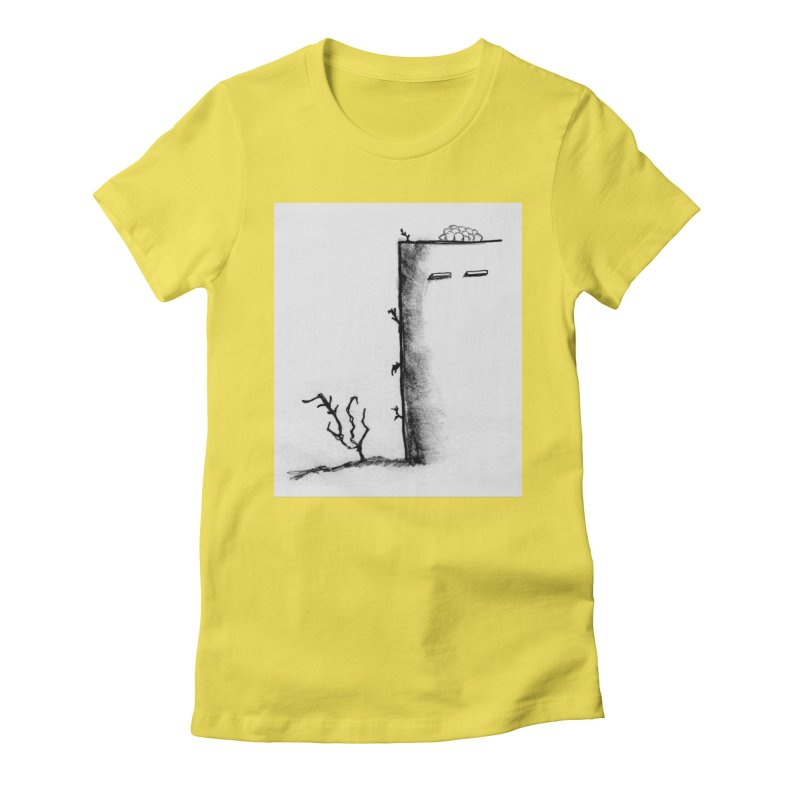 Tree Women's Fitted T-Shirt by pizzidave's Artist Shop