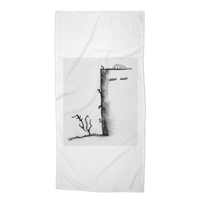 Tree Accessories Beach Towel by pizzidave's Artist Shop