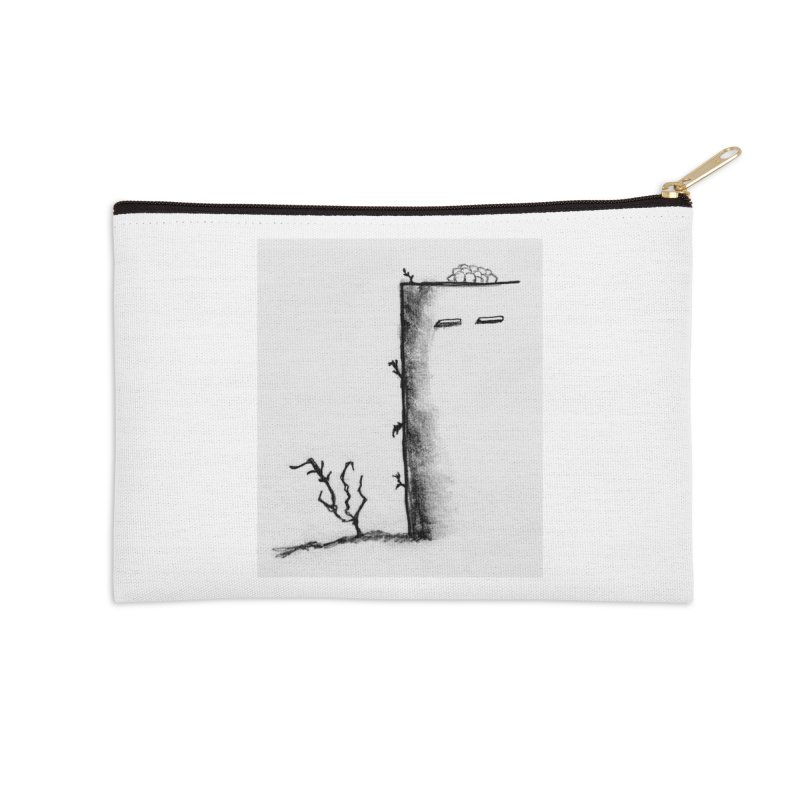 Tree Accessories Zip Pouch by pizzidave's Artist Shop
