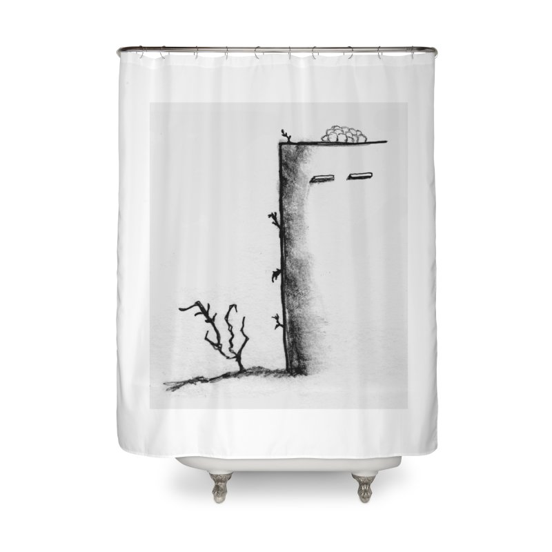 Tree Home Shower Curtain by pizzidave's Artist Shop