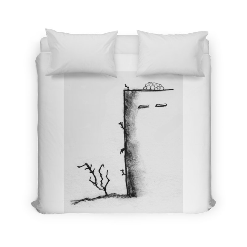 Tree Home Duvet by pizzidave's Artist Shop