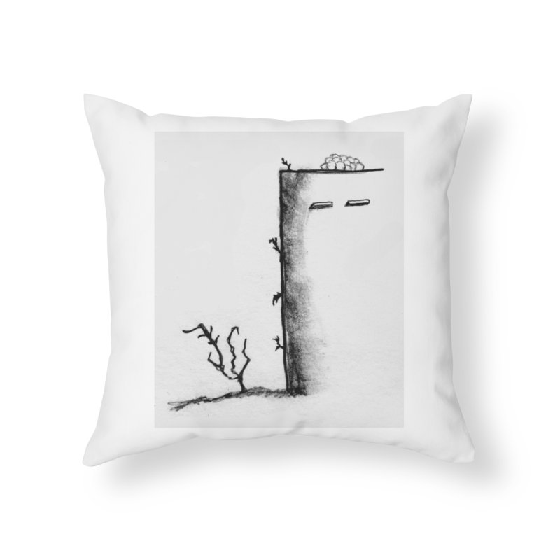 Tree Home Throw Pillow by pizzidave's Artist Shop
