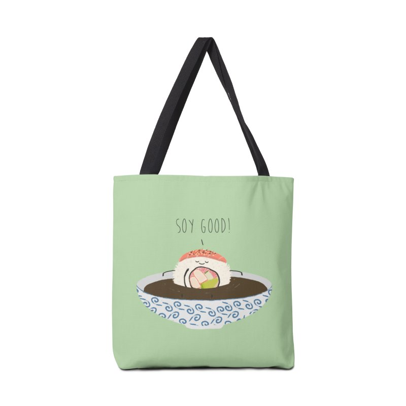 Soy Good! Accessories Bag by planet64's Artist Shop
