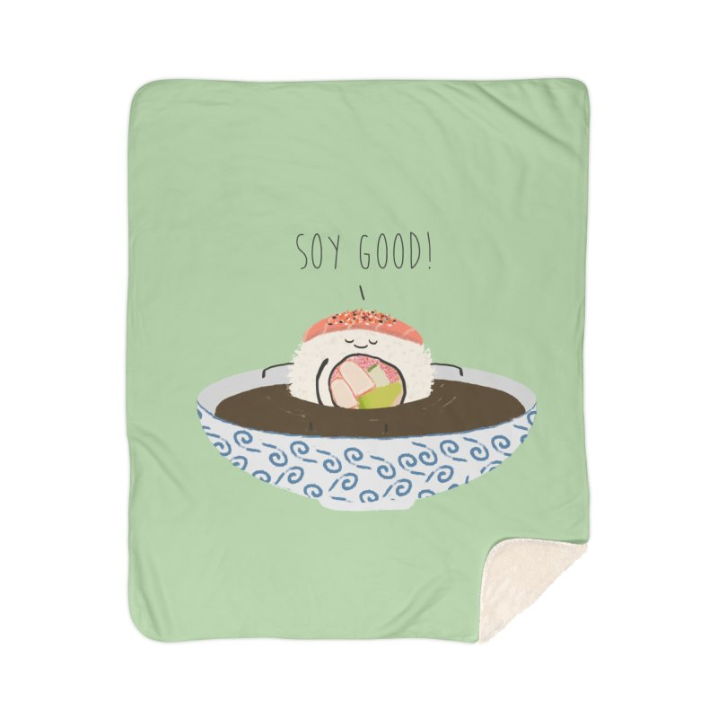 Soy Good! Home Blanket by planet64's Artist Shop