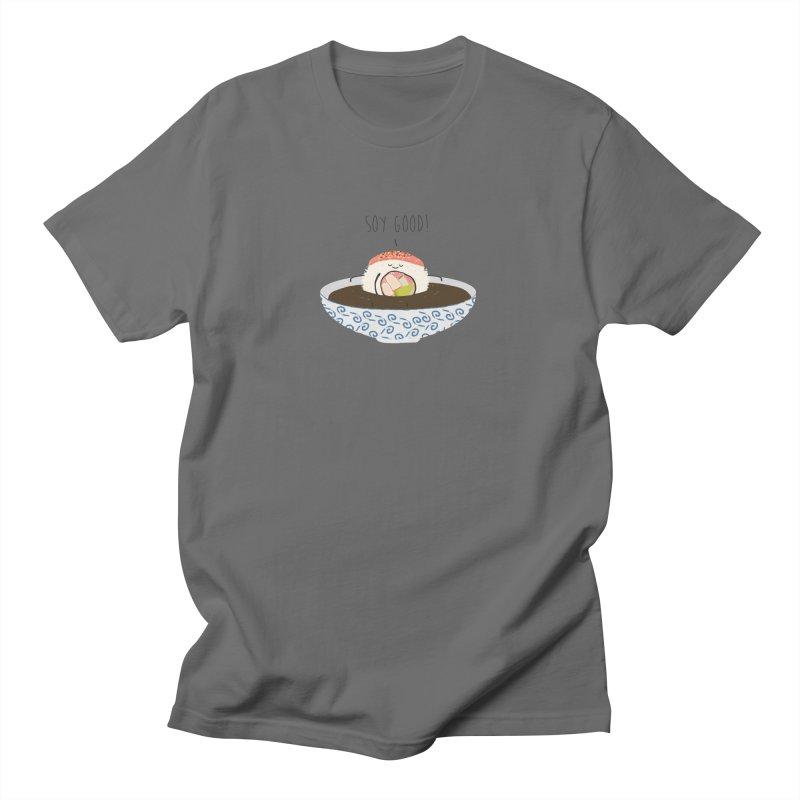 Soy Good! Men's T-Shirt by planet64's Artist Shop