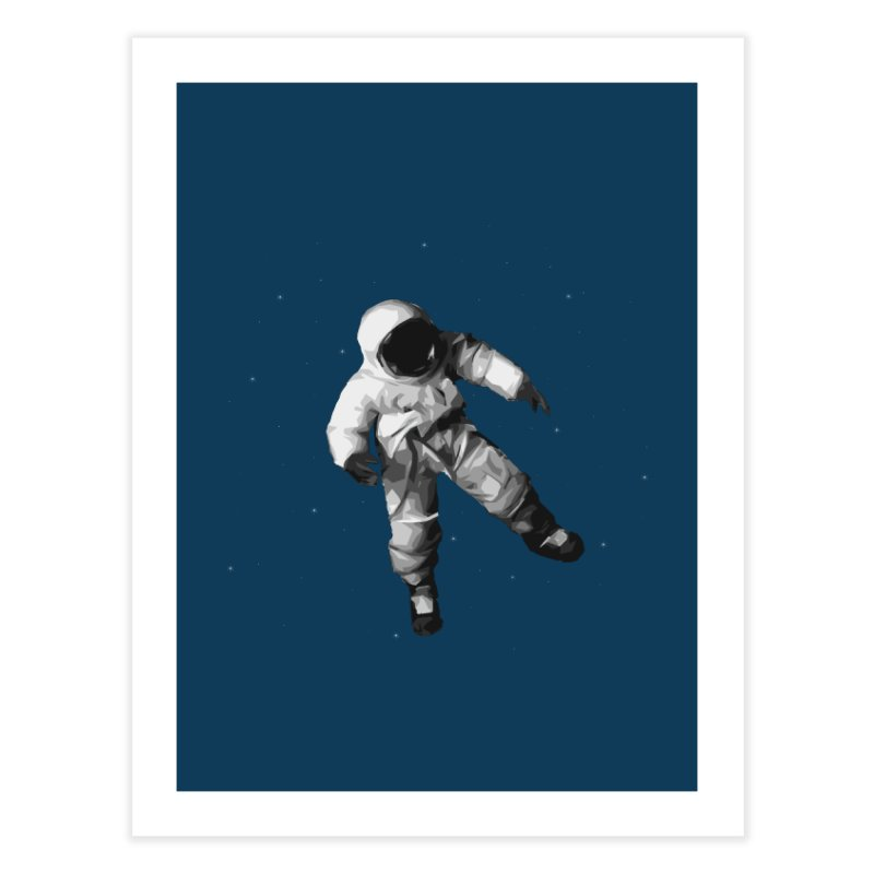Among the stars Home Fine Art Print by planet64's Artist Shop