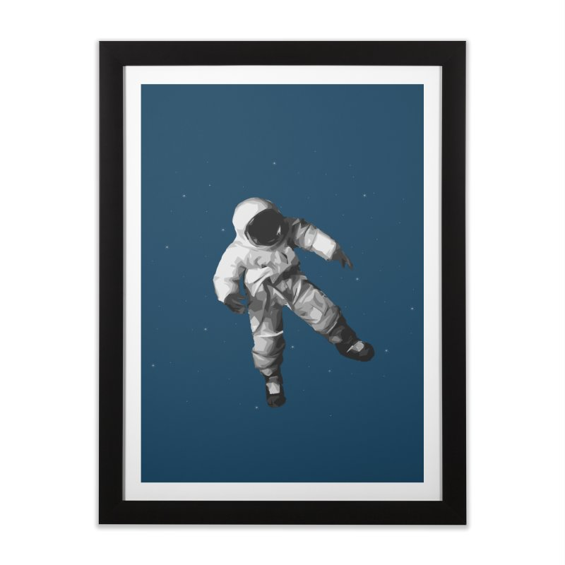 Among the stars Home Framed Fine Art Print by planet64's Artist Shop