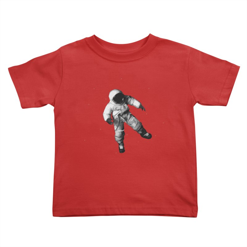 Among the stars Kids Toddler T-Shirt by planet64's Artist Shop