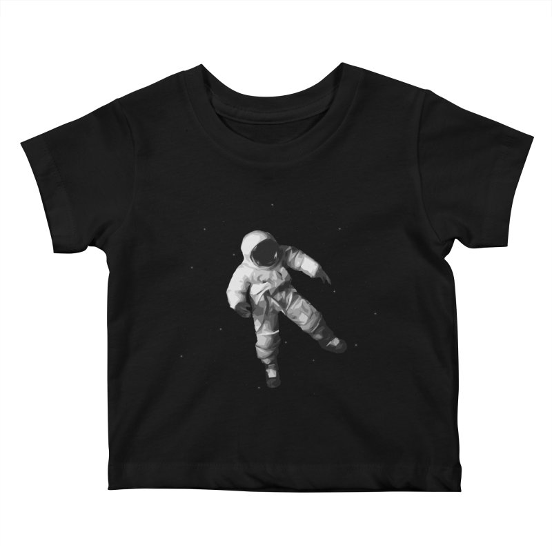 Among the stars Kids Baby T-Shirt by planet64's Artist Shop