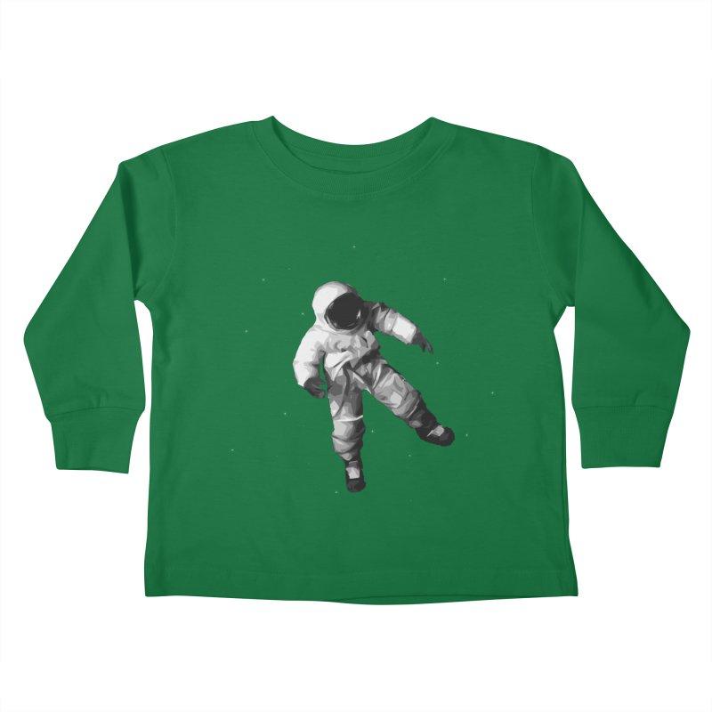 Among the stars Kids Toddler Longsleeve T-Shirt by planet64's Artist Shop