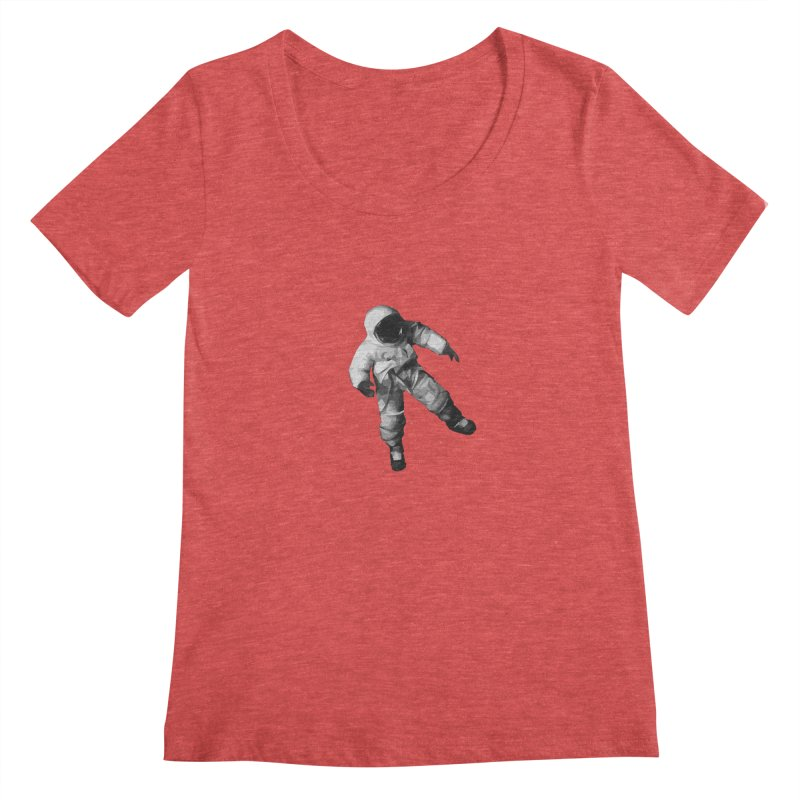 Among the stars Women's Regular Scoop Neck by planet64's Artist Shop