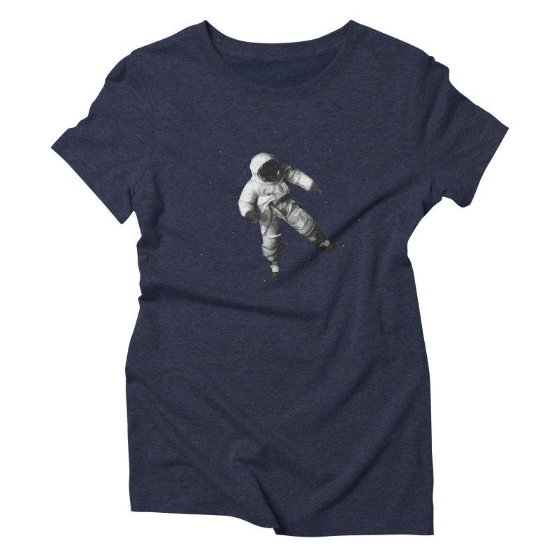 Among the stars Women's Triblend T-Shirt by planet64's Artist Shop