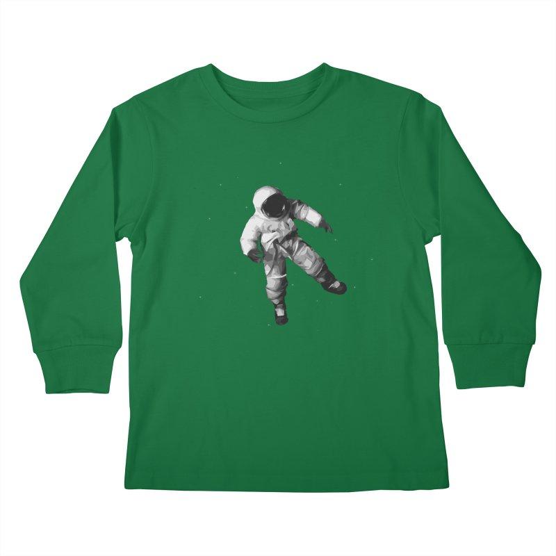 Among the stars Kids Longsleeve T-Shirt by planet64's Artist Shop