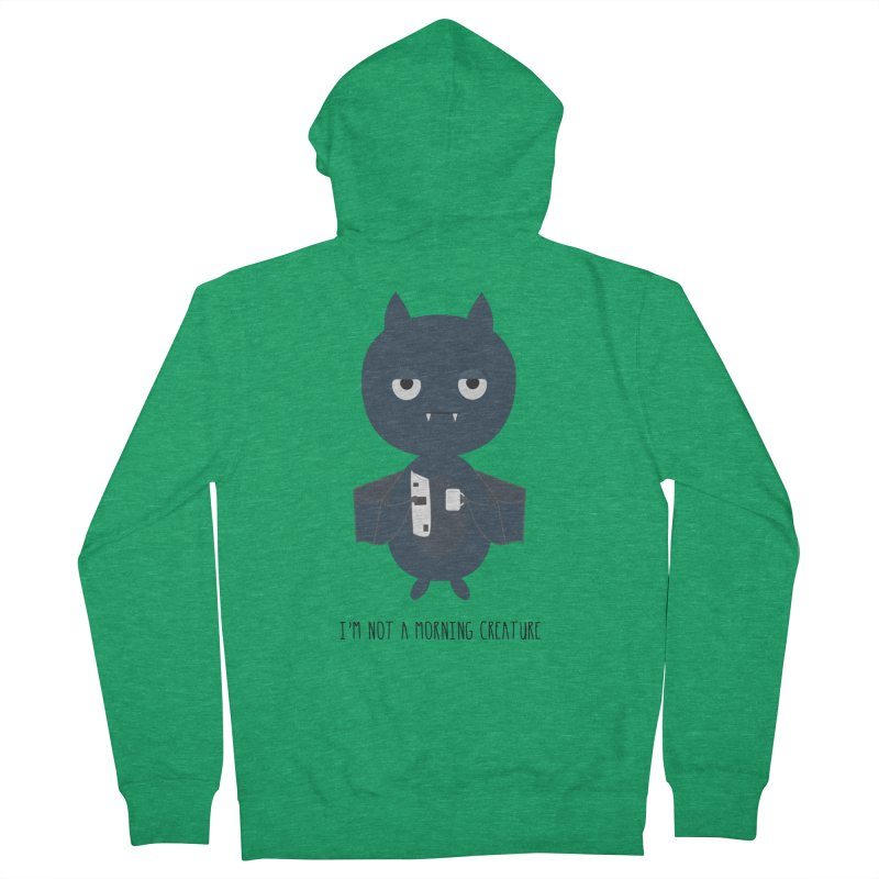 I'm not a morning creature Women's Zip-Up Hoody by planet64's Artist Shop
