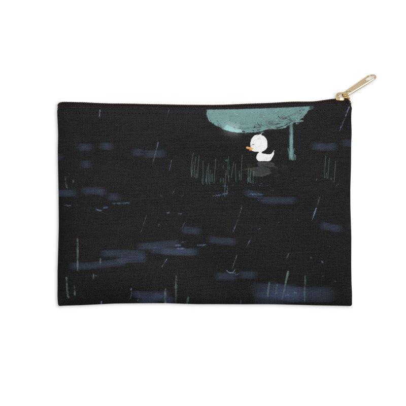 Rain Accessories Zip Pouch by planet64's Artist Shop