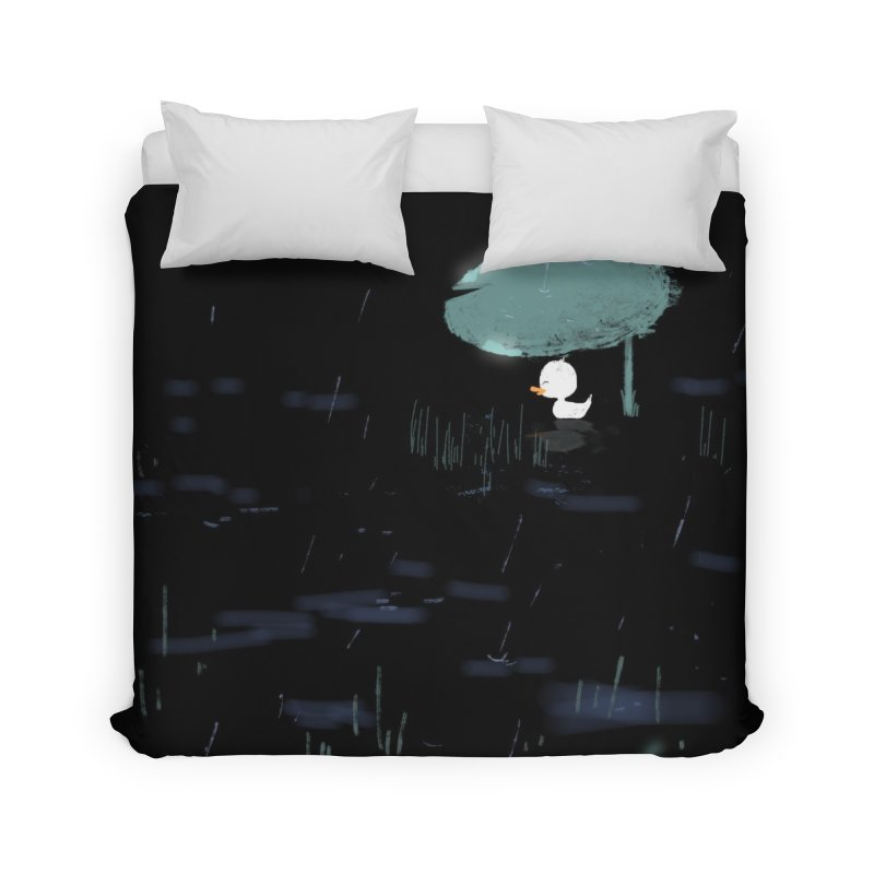 Rain Home Duvet by planet64's Artist Shop