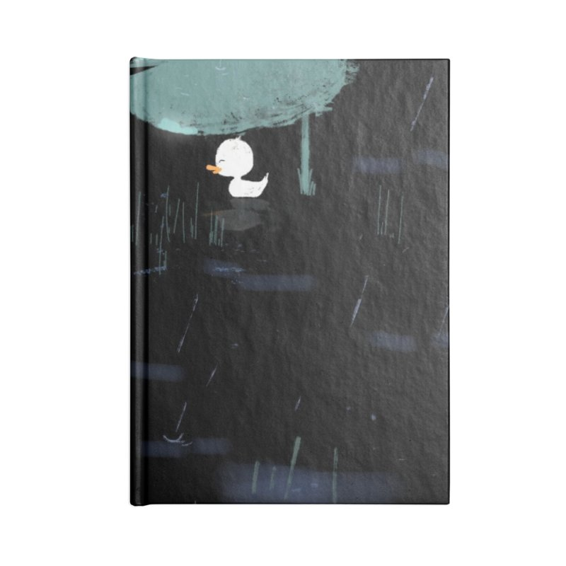 Rain Accessories Blank Journal Notebook by planet64's Artist Shop