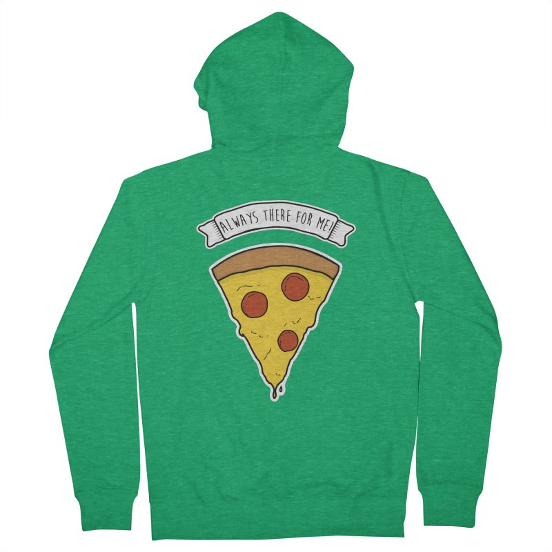 Always there for me! Women's Zip-Up Hoody by planet64's Artist Shop