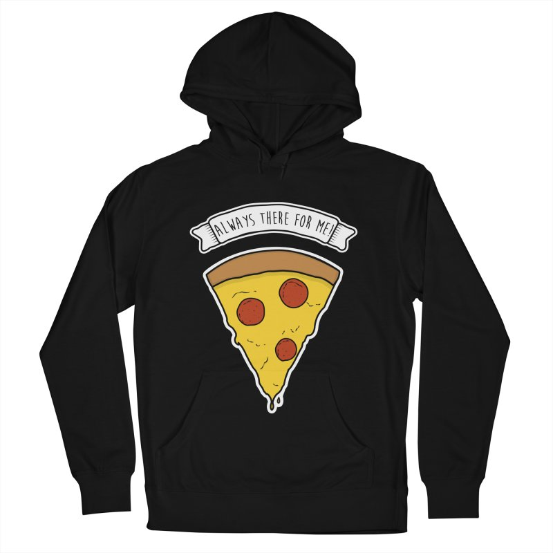 Always there for me! Women's French Terry Pullover Hoody by planet64's Artist Shop