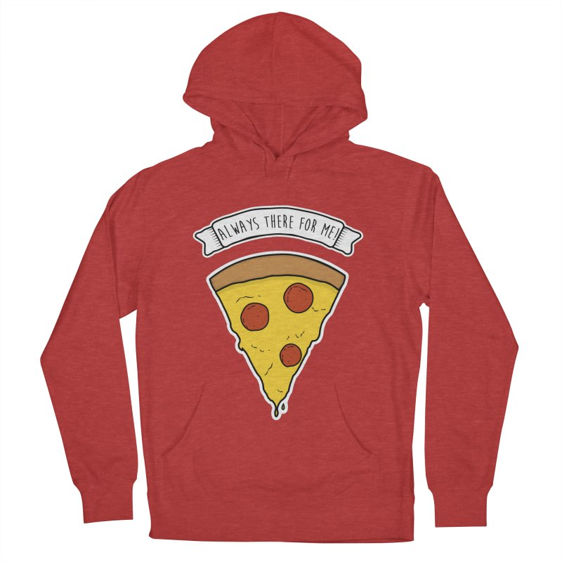 Always there for me! Men's French Terry Pullover Hoody by planet64's Artist Shop