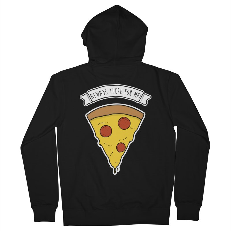 Always there for me! Men's French Terry Zip-Up Hoody by planet64's Artist Shop