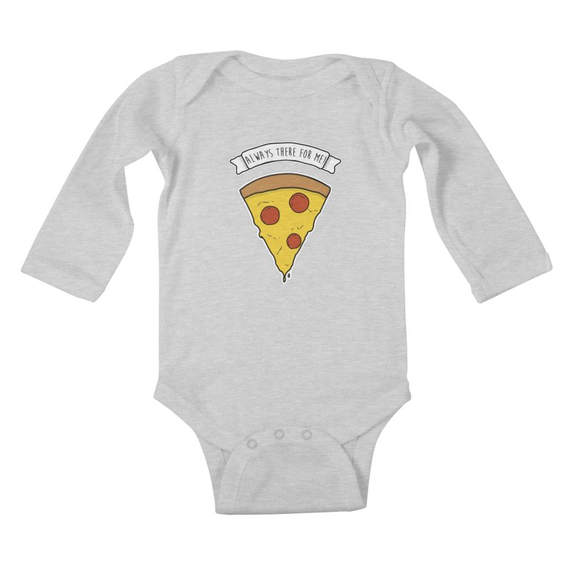 Always there for me! Kids Baby Longsleeve Bodysuit by planet64's Artist Shop