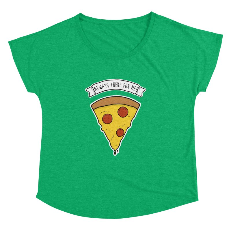 Always there for me! Women's Dolman Scoop Neck by planet64's Artist Shop