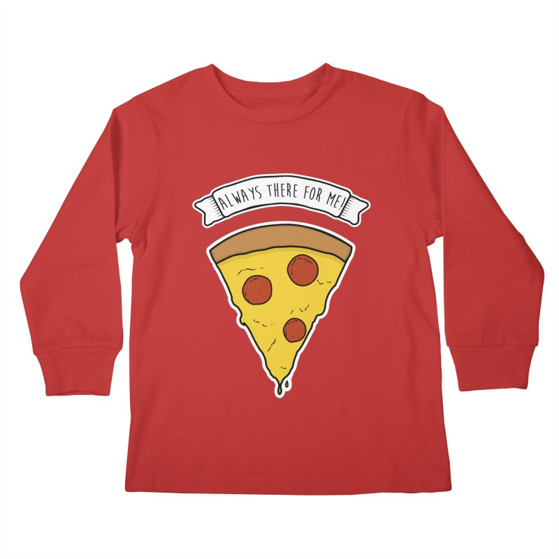 Always there for me! Kids Longsleeve T-Shirt by planet64's Artist Shop