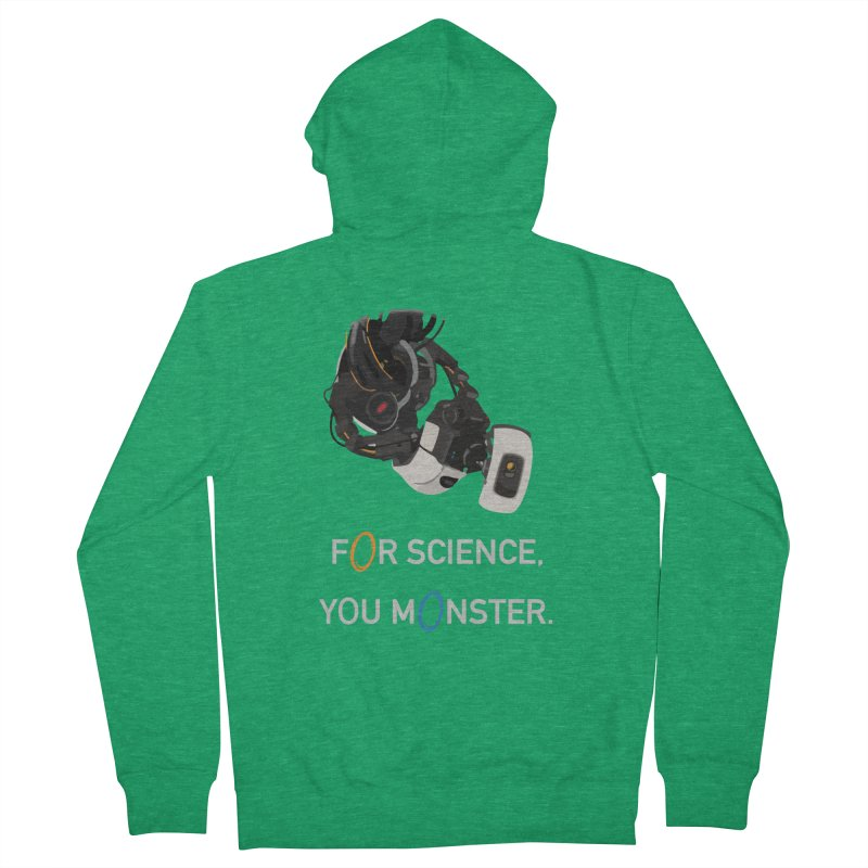 For Science Women's Zip-Up Hoody by planet64's Artist Shop