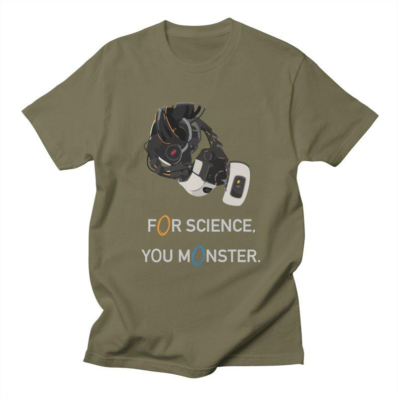 For Science Men's Regular T-Shirt by planet64's Artist Shop